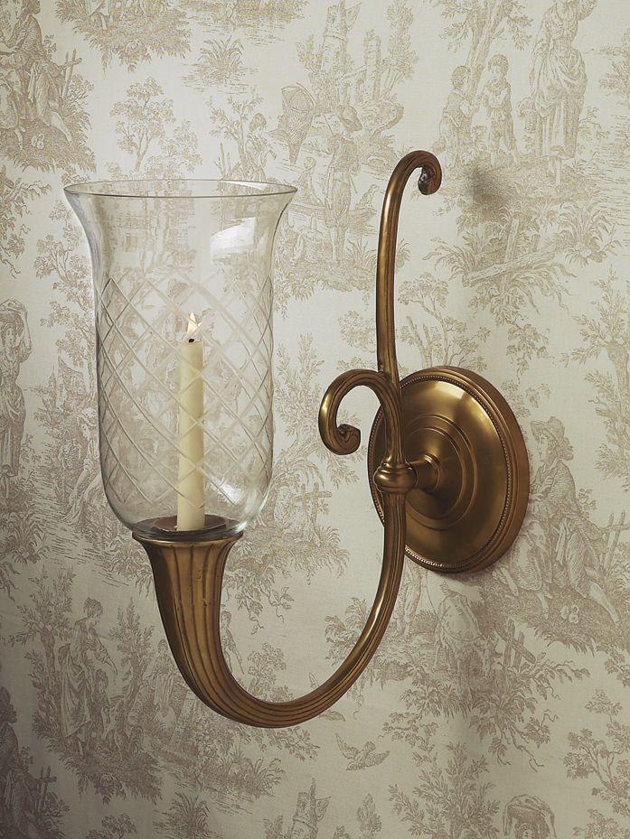 Dessau Home Decorative Accessories Sconces Candle Wall Sconces Bronze Wall Sconce