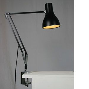 Desk Lamp Clamp: Anglepoise Clamp-on Desk Lamp,Lighting
