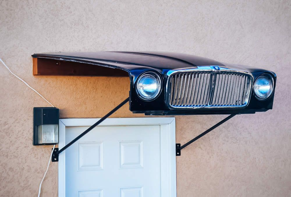 14 Brilliant Uses For Old Car Parts | Cars, Car furniture and Men cave