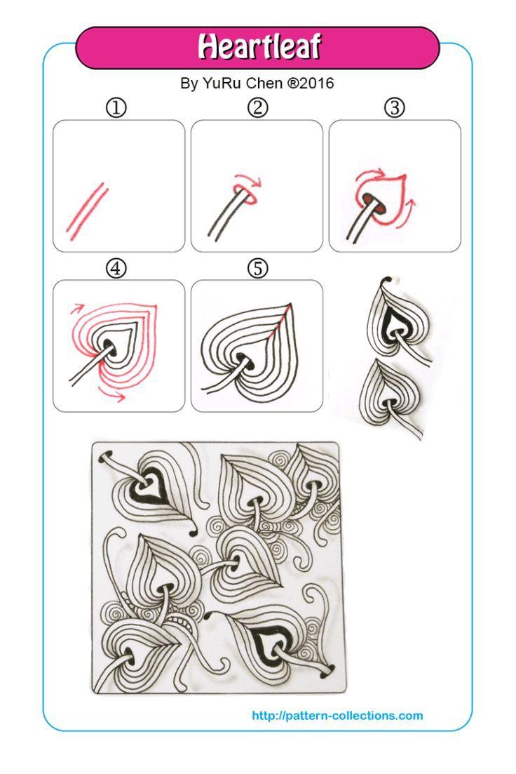 Resultado De Imagen Para Zentangle Paso A Paso Arte Optico Pinterest