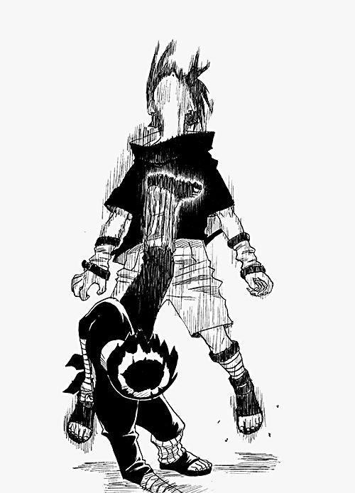 Rock Lee Vs Sasuke Manga Busqueda De Google Naruto Sketch Anime Naruto Naruto Drawings