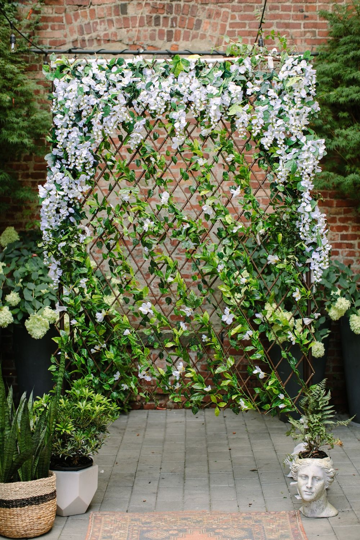 Diy Wisteria Trellis Ceremony Backdrop To Wow Your Guests Diy