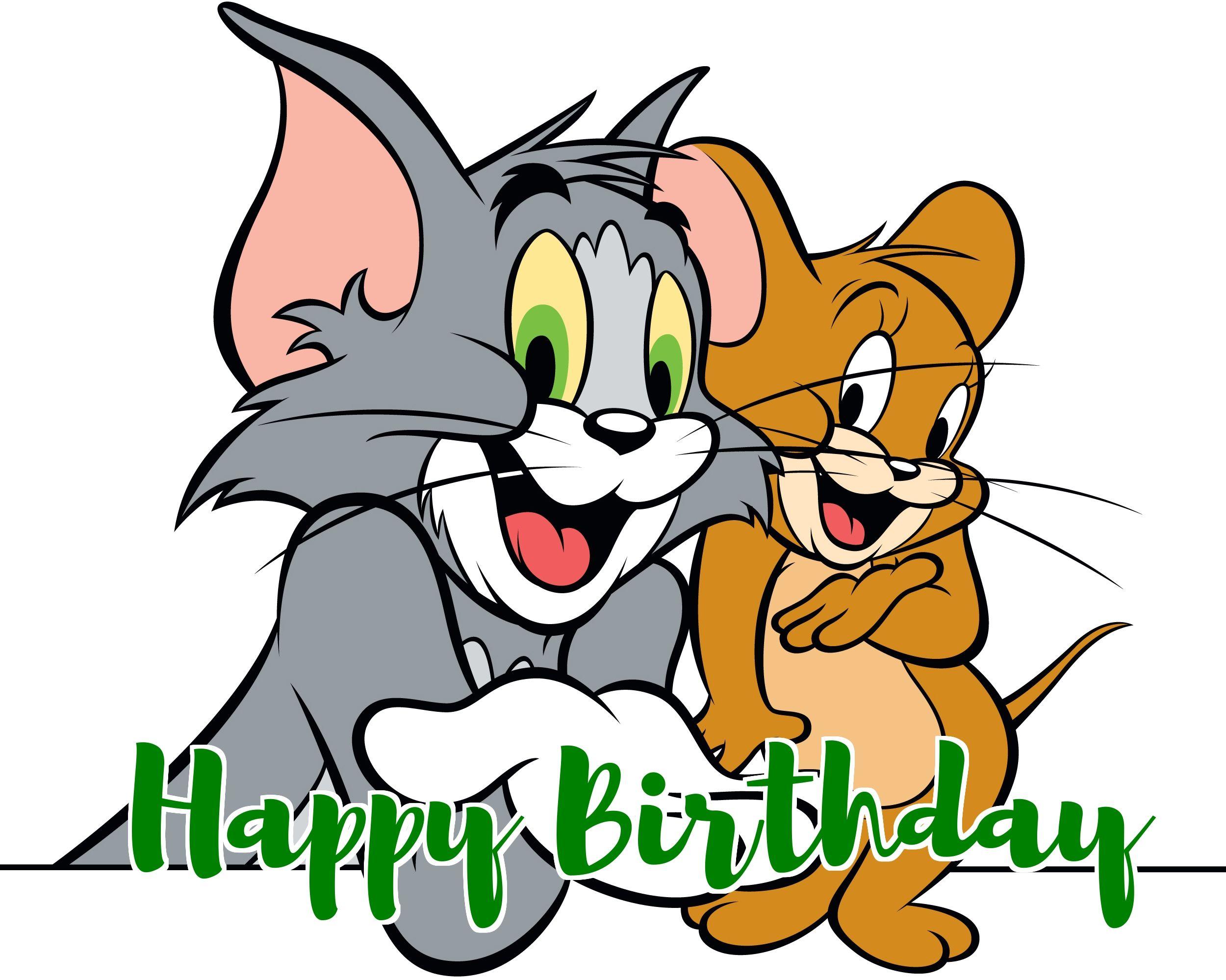 tom and jerry birthday | Tom and Jerry Birthday Cards | Pinterest