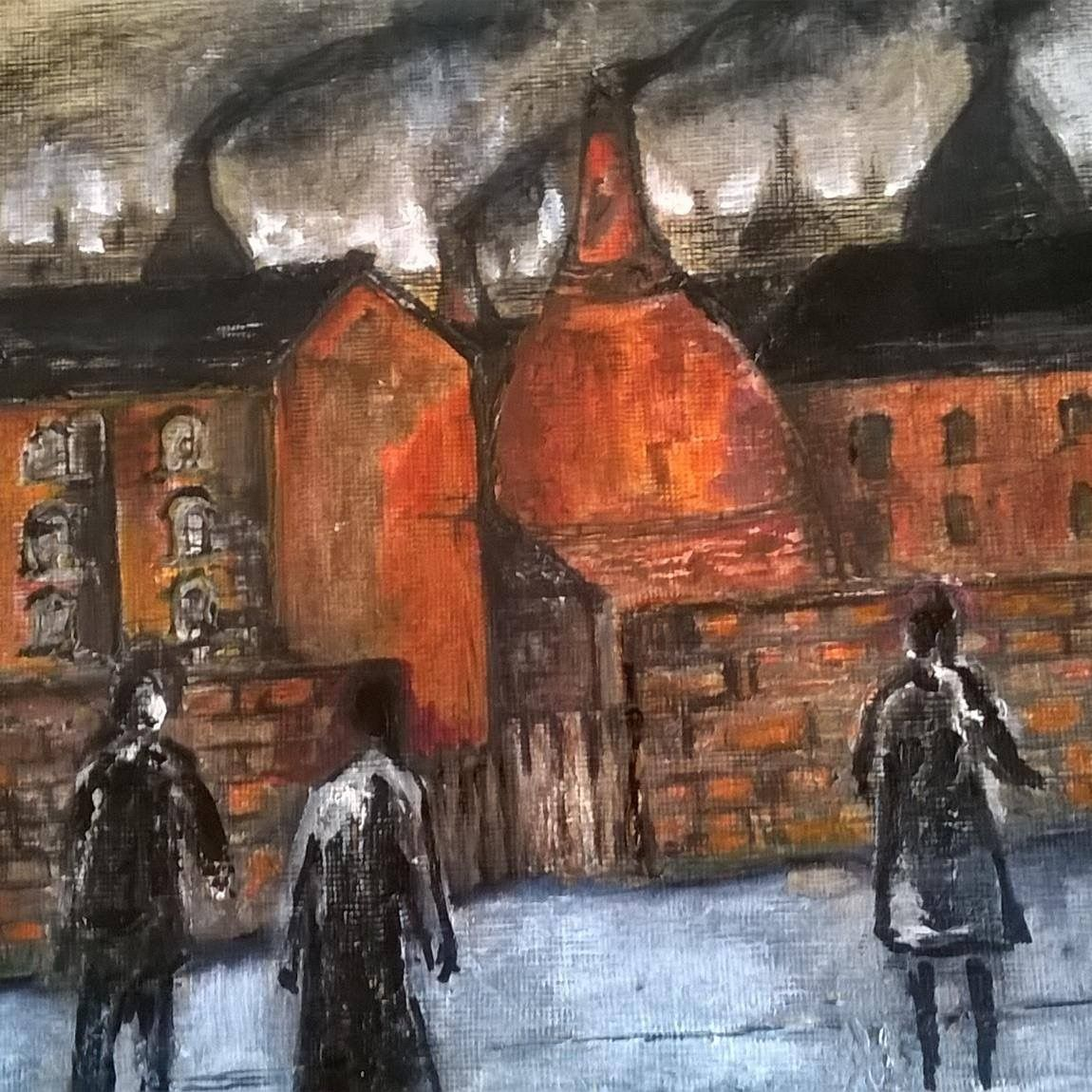 Painting By Pat Myatt Longton School Of Art Art Painting Art