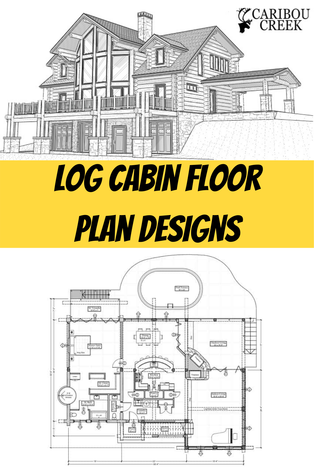 Design Your Perfect Log Cabin Layout Log Home Designs Log Home Floor Plans Log Cabin Floor Plans