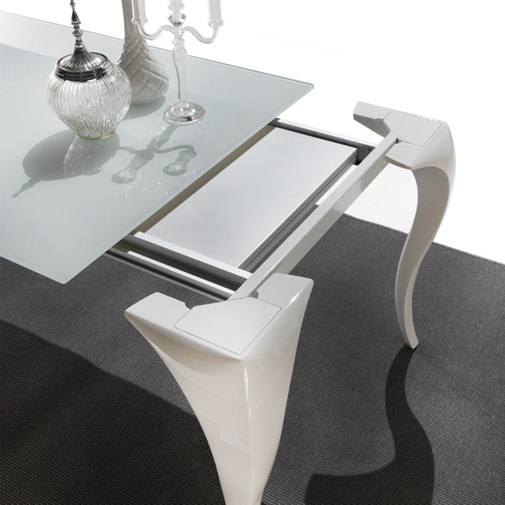 Tavolo Pranzo Allungabile Design.Tavolo Da Pranzo Allungabile Design Moderno Liberty Tables