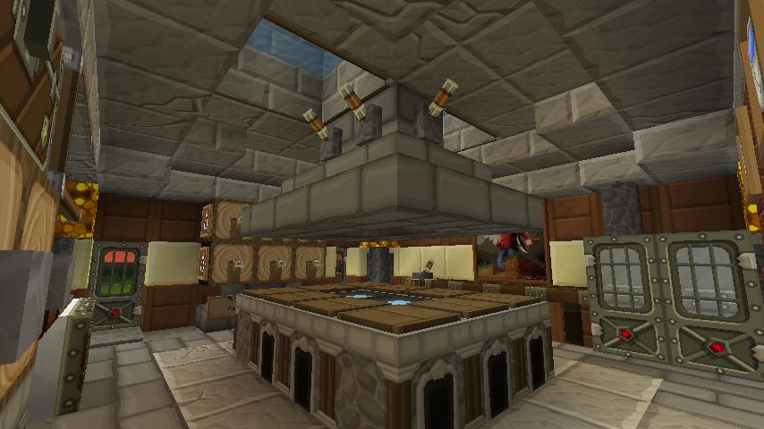 minecraft kitchen 2nd view   Cool house designs, Minecraft kitchen ideas, Modern rustic