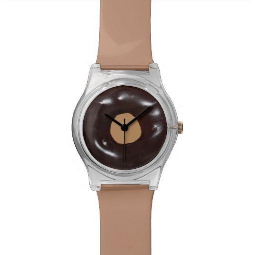 Chocolate Glazed Donut Watch