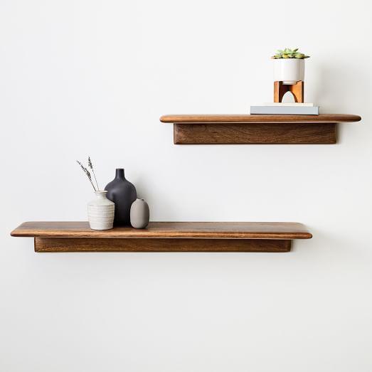Reclaimed Wood Floating Shelf In 2020 Wood Floating Shelves Floating Shelves Reclaimed Wood Floating Shelves