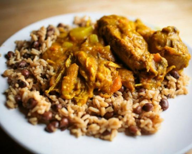 Jamaican curried chicken with rice and peas 15 curry recipes food jamaican curried chicken forumfinder Image collections
