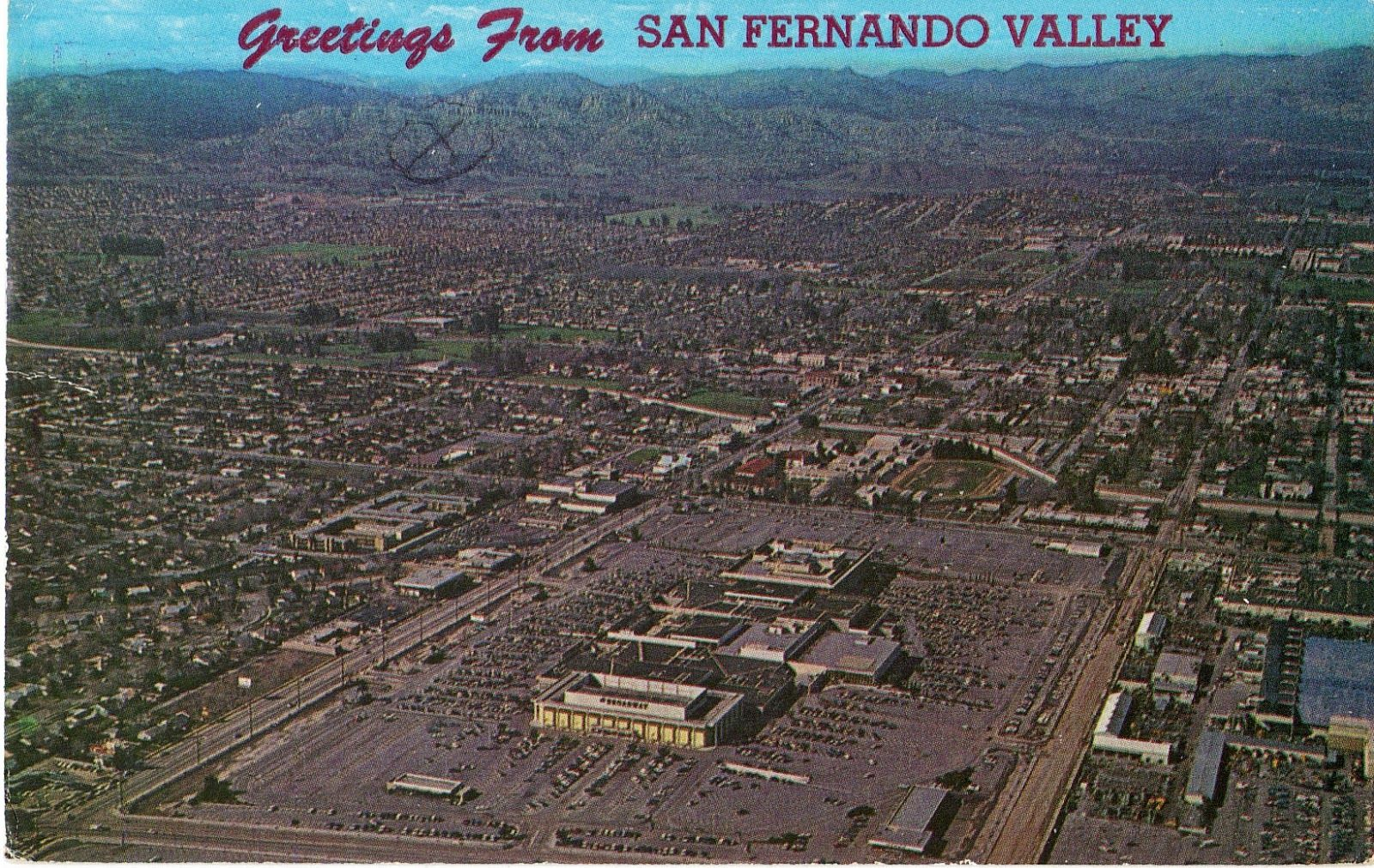 Pin By Brian Ross On For My Family San Fernando Valley Los Angeles Area Aerial View