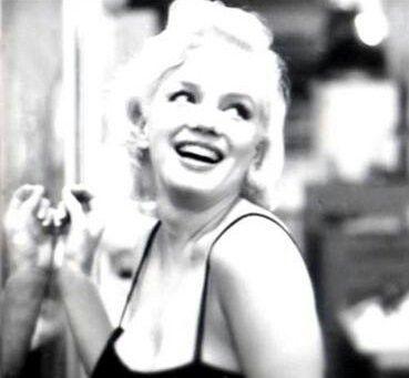Marilyn. Photo by Milton Greene, 1955. NYC.