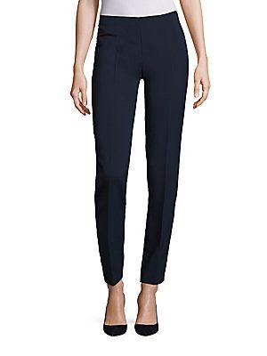 e798a5718f1c30 Alberta Ferretti Mid Rise Trouser - Blue - Size 46 (10)
