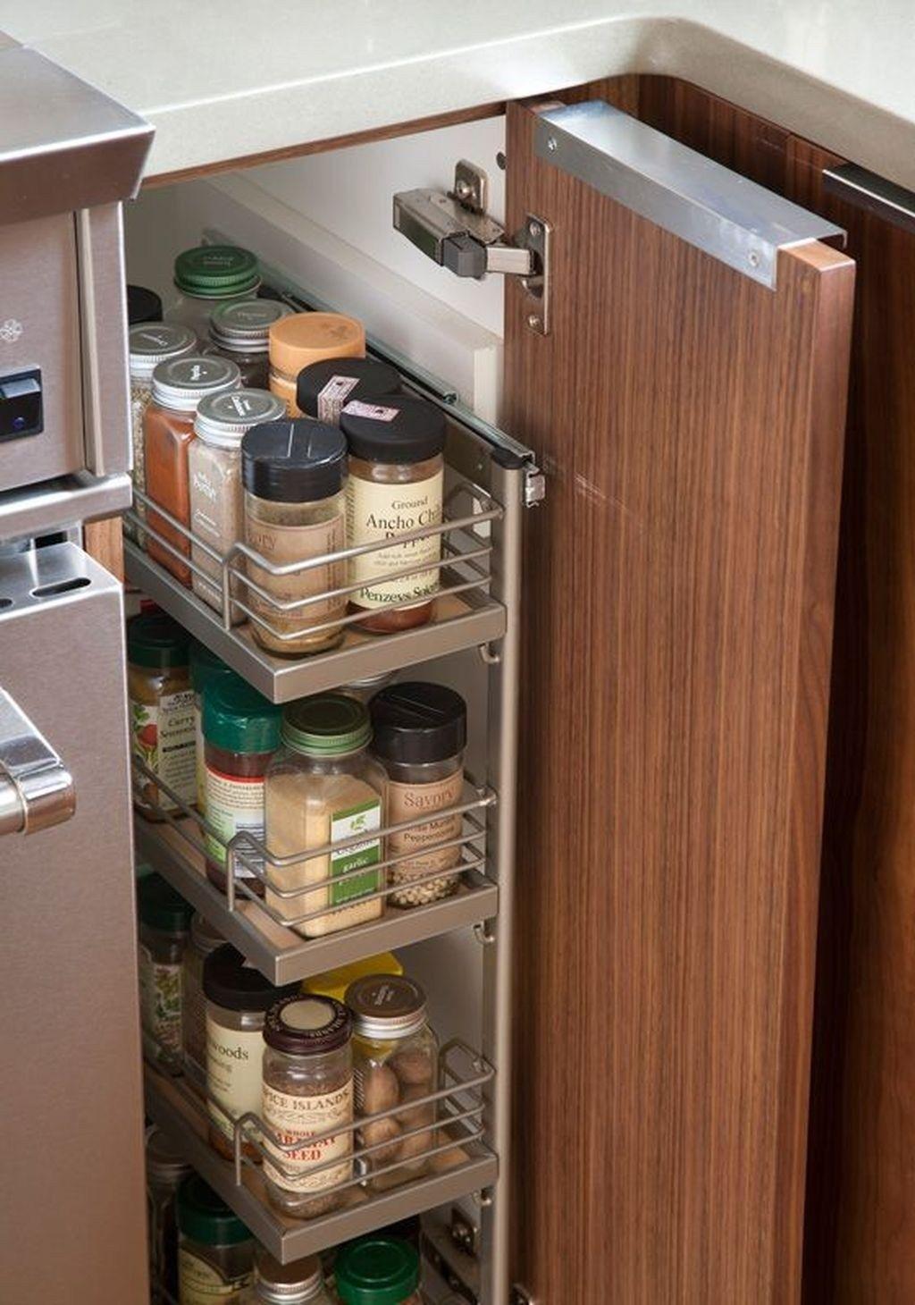 48 Inspiring Kitchen Storage Design Ideas Kitchen Cabinet Organization Layout Kitchen Cabinet Storage Diy Kitchen Storage