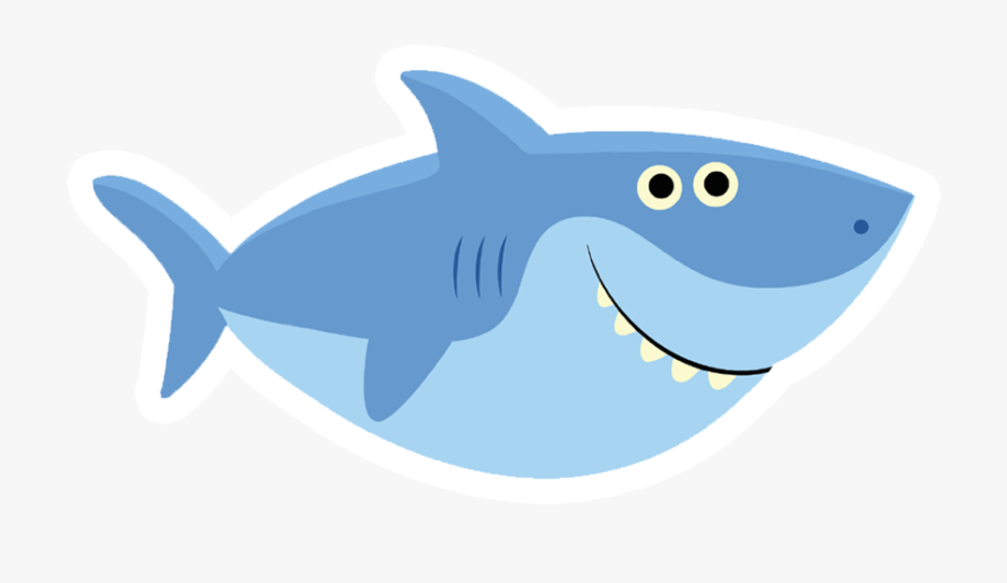 Baby Shark Pinkfong Father Party Baby Shark Template Png Svg Baby Shark Baby Shark Doo Doo Shark Logo