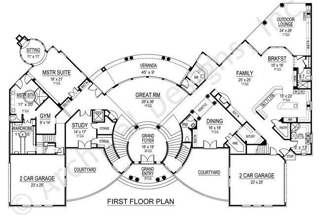 Mumbai Mansion House Plans Luxury House Plans Mumbai