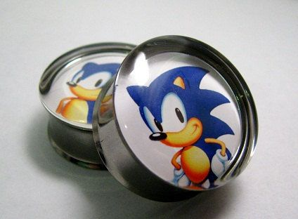 78b7f0ca0496 Sonic the Hedgehog Plugs 2g