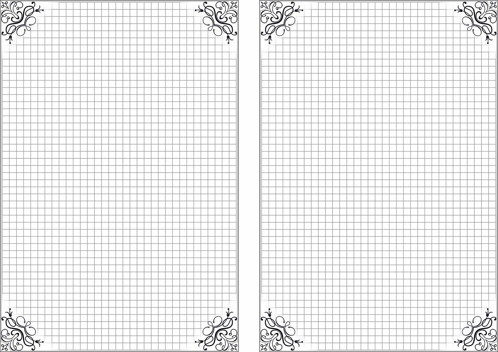 Страницы для блокнота шаблоны а6, восьмым