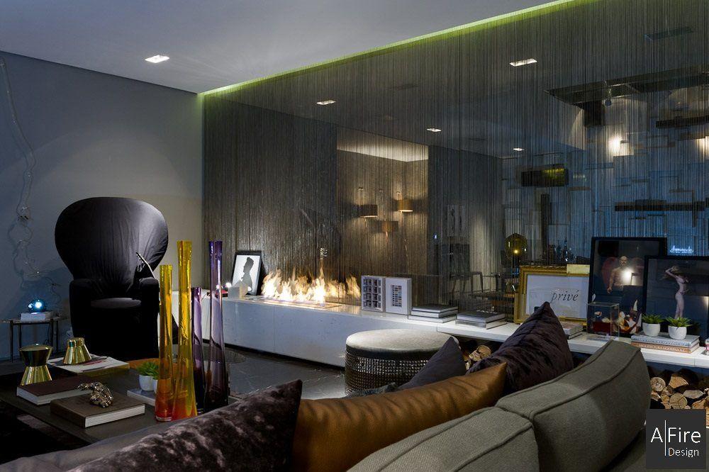 I pi bei camini a bioetanolo di design per il vostro soggiorno idee per la casa - Decorazione archi in casa ...