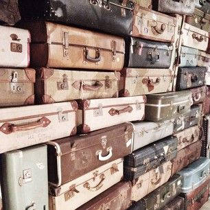 Timothy Oulton store - Old luggage - travel Instagram photo by m_r_s_t - | Later gram from the @cocorepublic showroom in Sydney #timothyoulton #cocorepublic