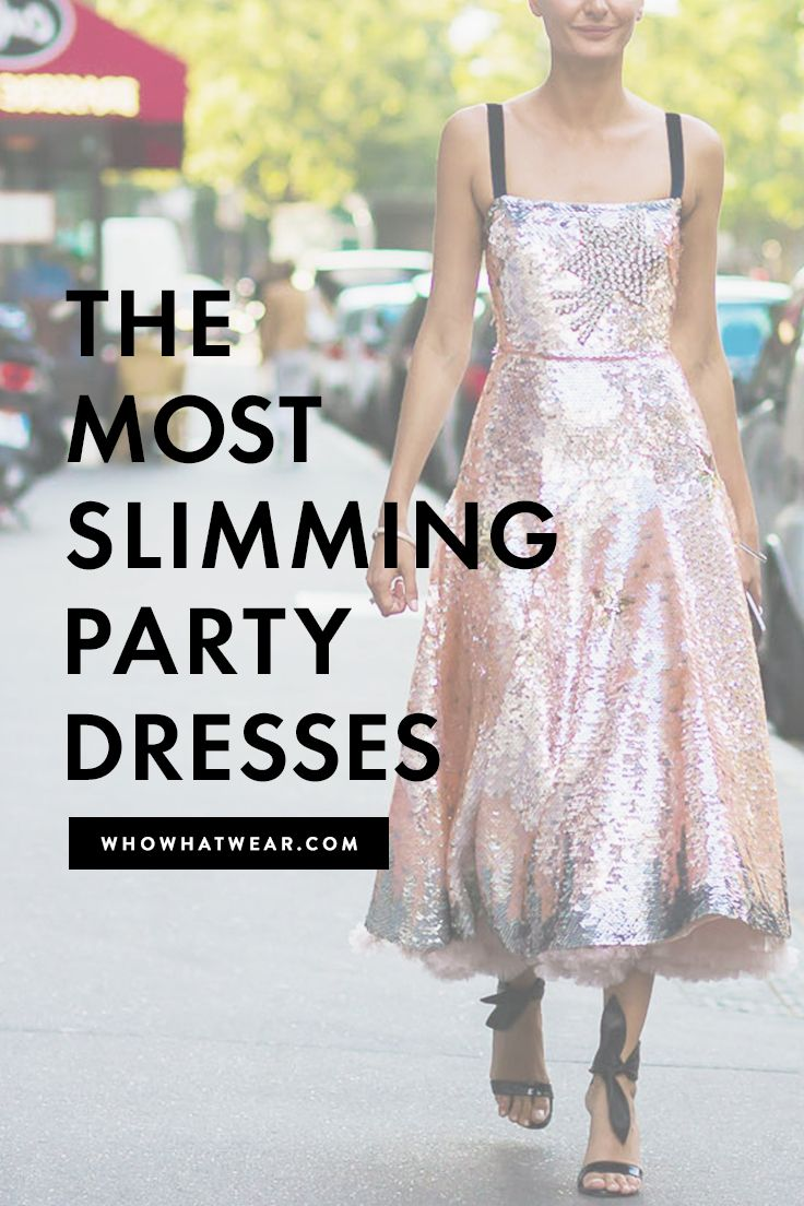 The Most Slimming Party Dresses for Every Size