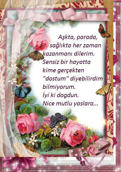 Dogum Gunu Resimleri Dogum Gunu Kartlari Cok Iyi Abi Happy Birthday Floral Floral Wreath