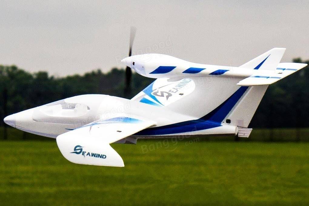 Dynam Seawind Blue 1220mm 48inch Wingspan RC Seaplane PNP Sale - Banggood.com