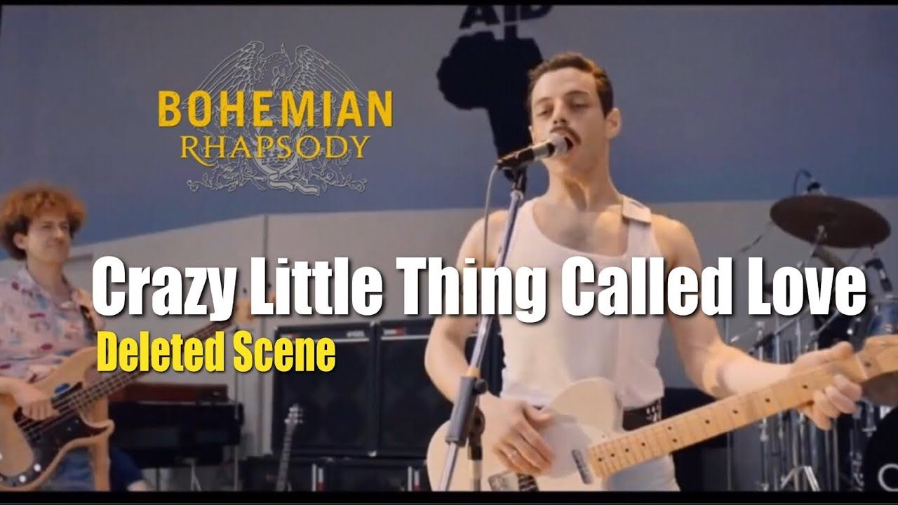 Crazy Little Thing Called Love Live Aid Deleted Scene From