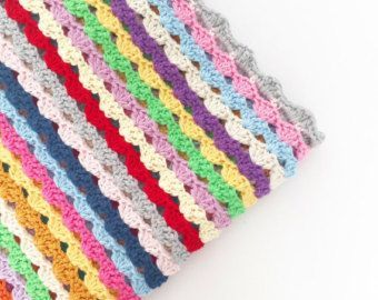 Crochet Pillow Edging Pattern - Instant Download #pillowedgingcrochet Crochet Pillow Edging Pattern  Instant por annemariesbreiblog #pillowedgingcrochet
