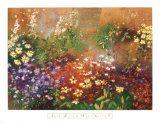 Meadow Garden V Poster by Aleah Koury