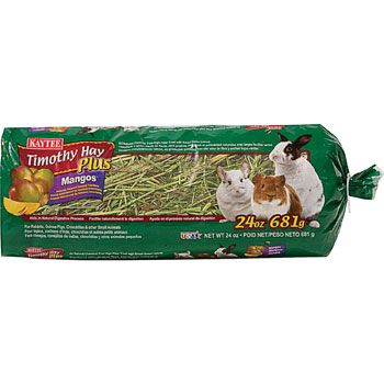 Kaytee Timothy Hay Plus With Mango For Rabbits & Small