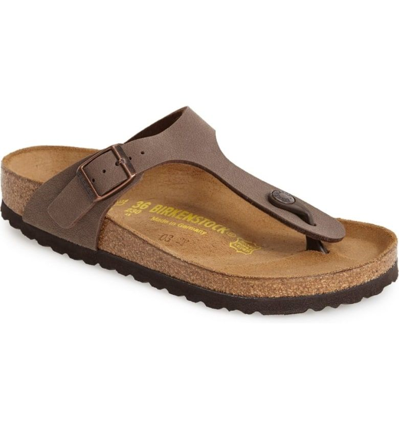 d0e47b113067 Free shipping and returns on Birkenstock  Gizeh  Birko-Flor Thong Sandal  (Women) at Nordstrom.com. A German-crafted thong sandal fitted with the  legendary ...