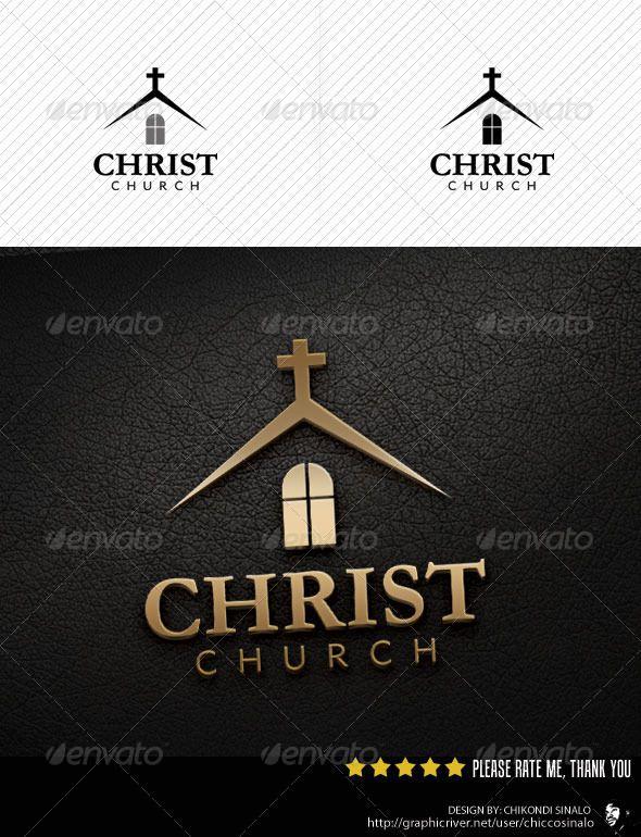 Christ Church Logo Template   Church logo, Logo templates and Churches