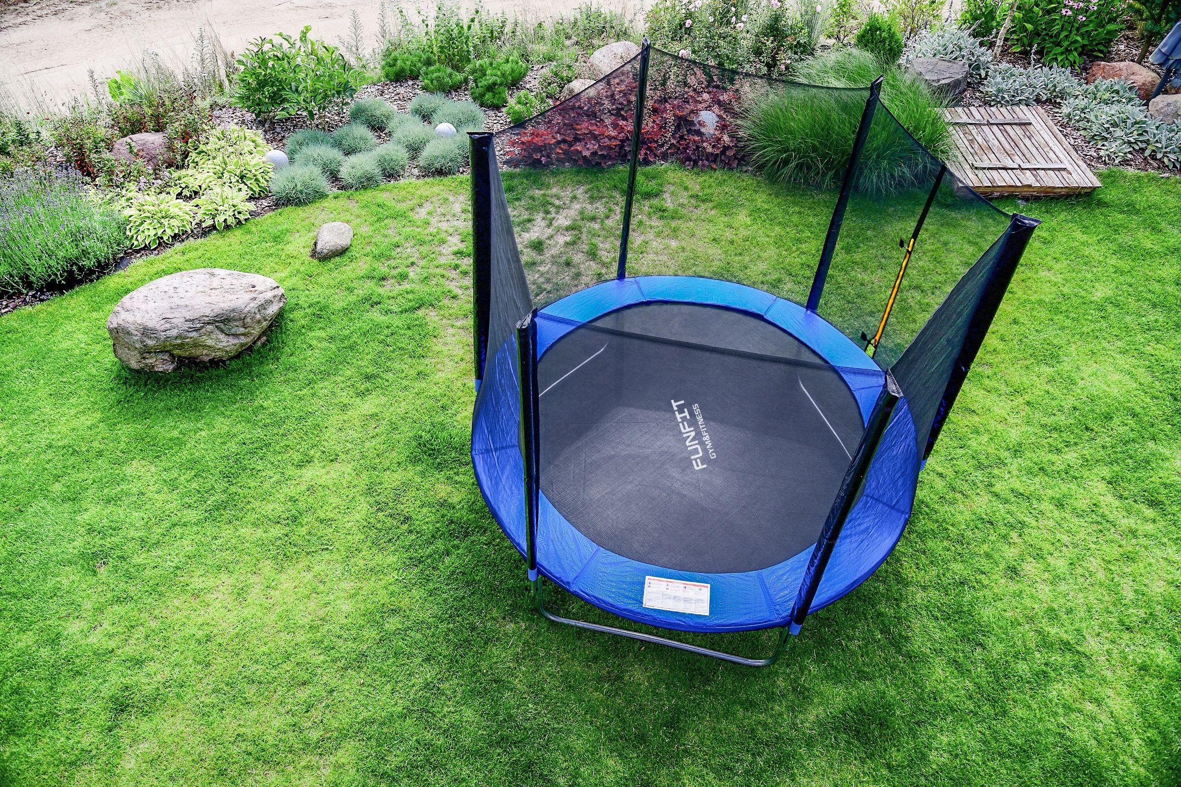 Trampolina Ogrodowa 252cm Z Siatka Drabinka Funfit 7834498013 Allegro Pl Outdoor Gear Outdoor Tent