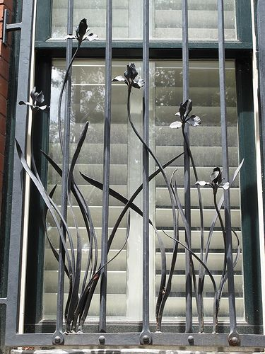 Security Bars For French Patio Doors: Nice Security Bars! Elegant...don't Forget, Sharp Edges