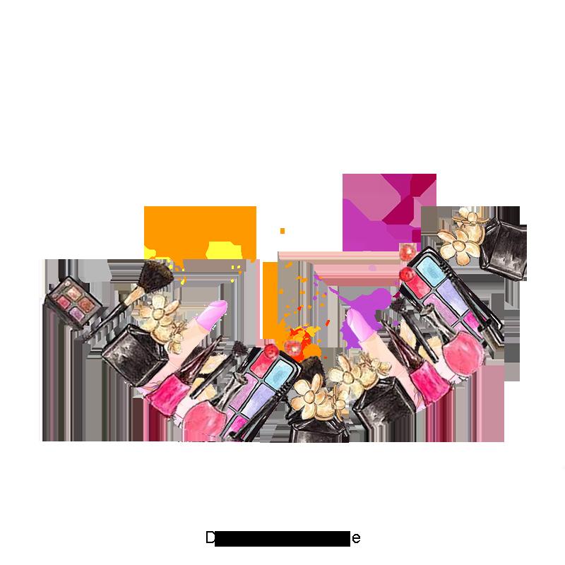 Creative Makeup Tools, Makeup Clipart, Tools Clipart