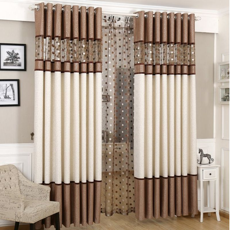 High Quality Luxury Curtain For Bedroom Kitchen Curtains For Living Room  Modern Cortinas Fabric Window String Curtains