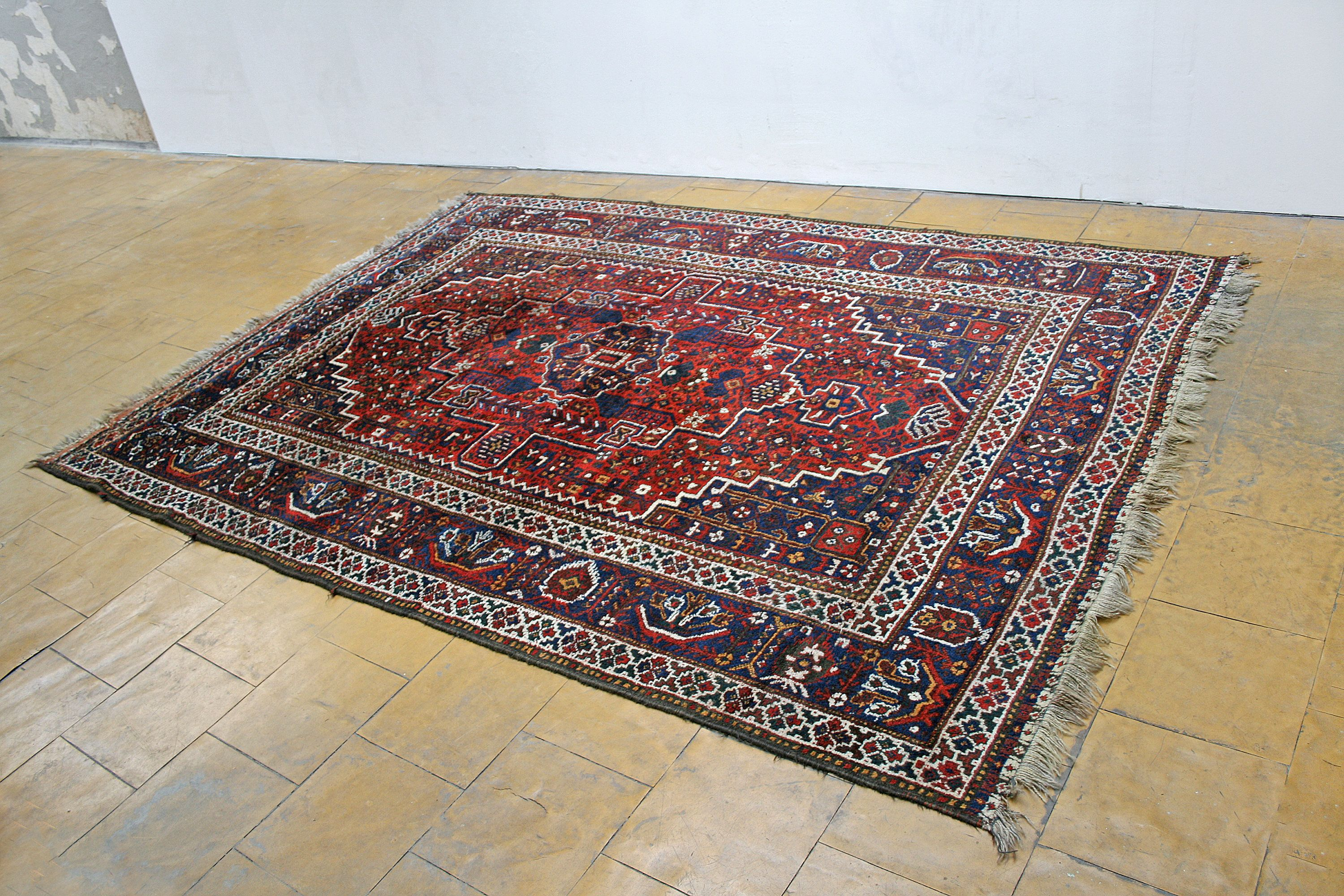 Large Vintage Persian Shirazi Area Rug Handwoven Antique Wool Etsy Home Decorators Rugs Area Rugs For Sale Rugs