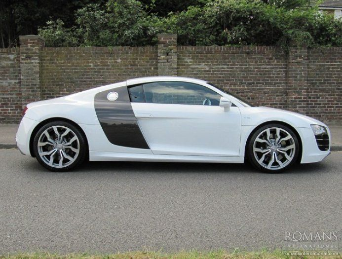 Used Audi R V Manual Ibis White Audi R Pinterest - Audi r8 used