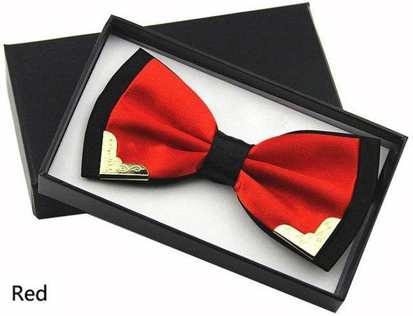 Huishi Bowtie Men Red Bow Tie Black Bowtie Gold Red Greendresskily Mens Bow Ties Mens Accessories Fashion Ties Mens