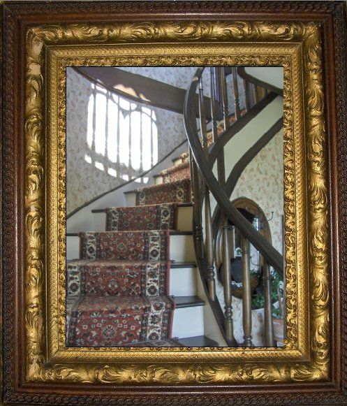 Foyer Mirror Feng Shui : If your front door opens to a staircase feng shui says