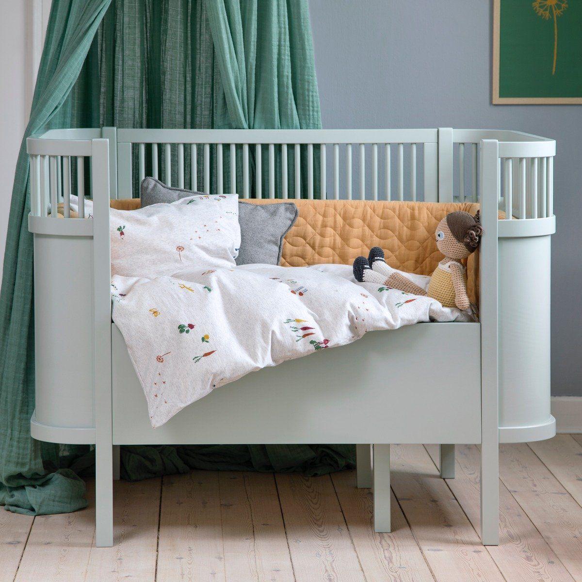 Sebra Babybett Kinderbett Mitwachsend Hohenverstellbar Ab Geburt Bis 6 Jahre In Hell Grun In 2019 Baby Kinder Bett Babybett Mitwachsend Bett