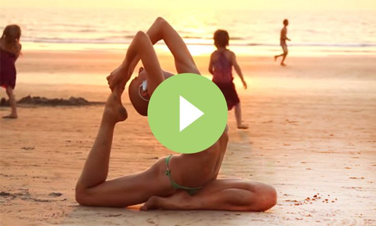 free form yoga  Incredible Free-Form Yoga in Goa, India (VIDEO) | Yoga and ...