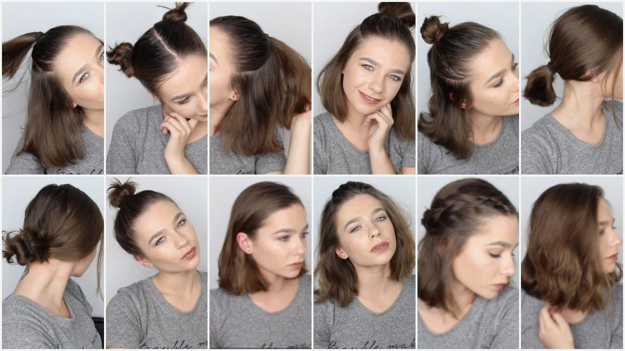 Short Hairstyles : Quick And Easy Hairstyles For Short Hair For