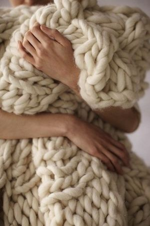 big knit blanket
