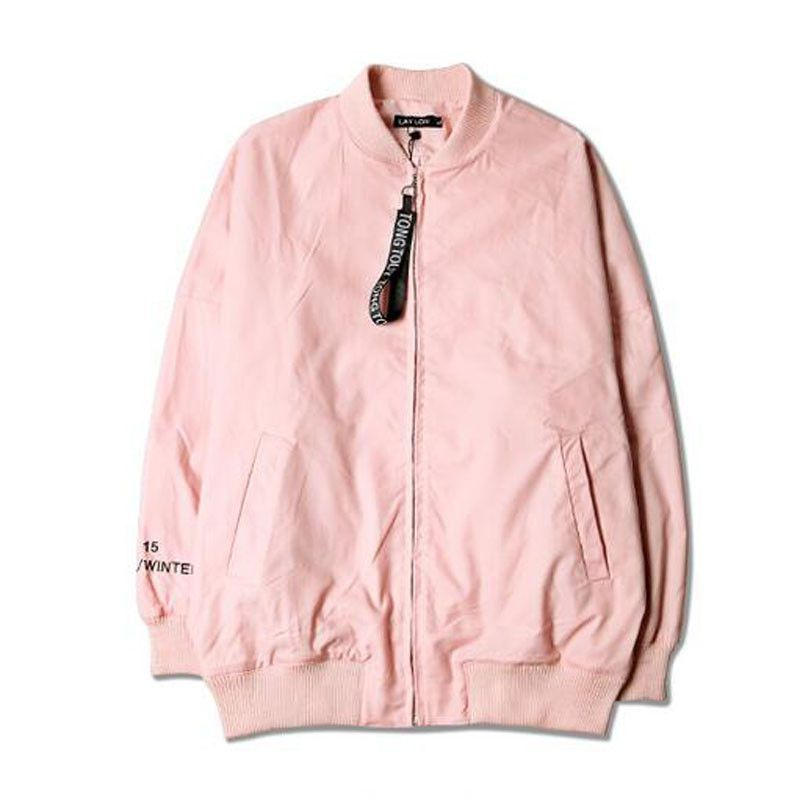 Autumn Pink Men's and Women's Casual Coat Short Style Jacket ...
