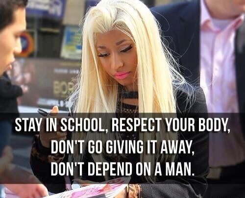Nicki Minaj Quotes Nicki Minaj Quotes Niki Minaj Quotes Rap Quotes