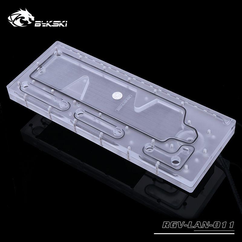 Bykski Acrylic Board Water Channel Solution Use For Lian Li O11
