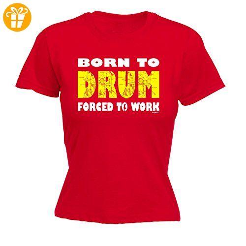 Fonfella Slogans Damen T-Shirt, Slogan Rot Rot - Shirts mit spruch (*Partner-Link)