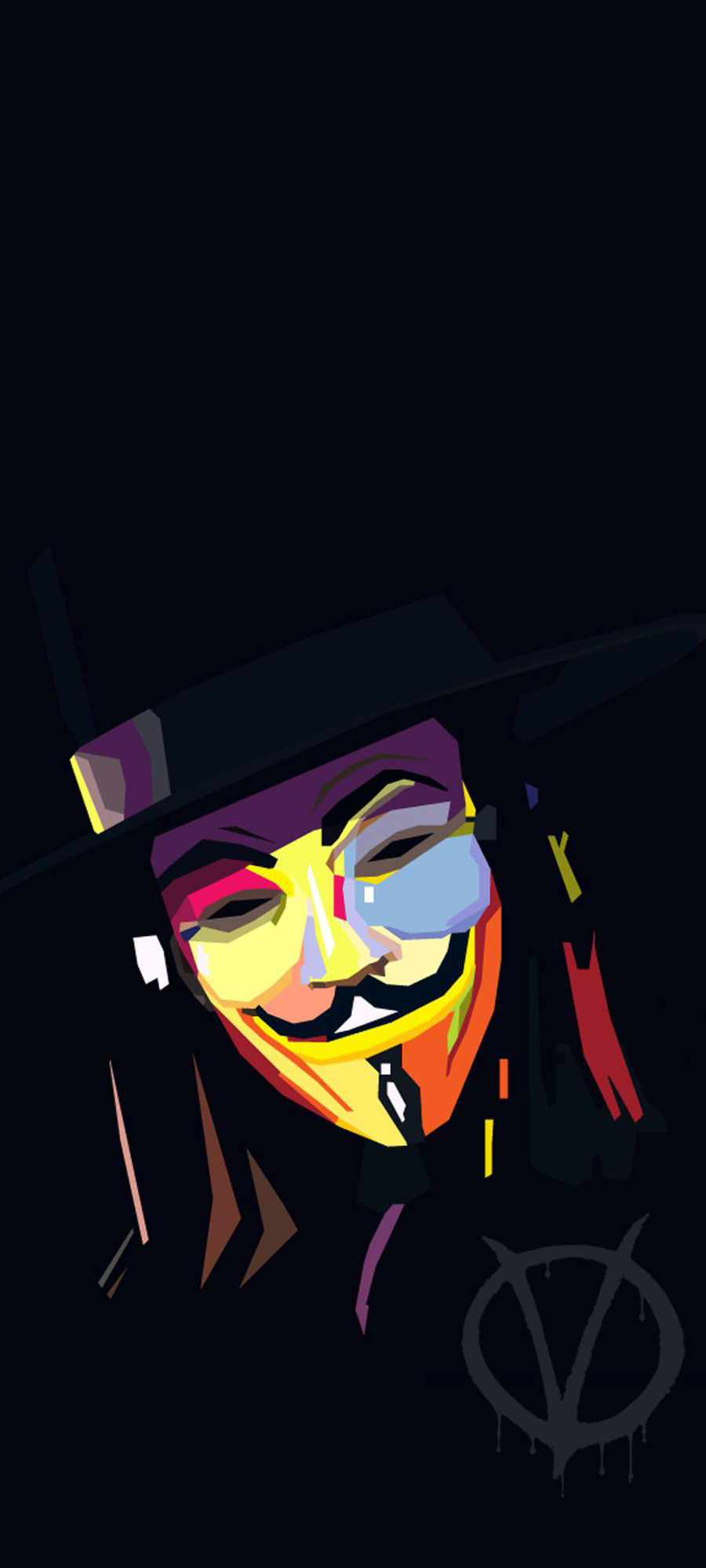 anonymous WPAP Phone Wallpapers in 2020 Friendship